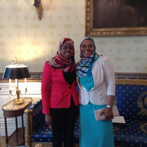 Saheela Ibrahim and her mother, Sherifat Ibrahim.