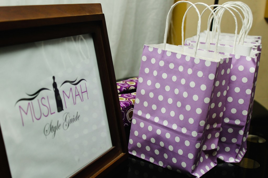 Yay! We got unique gift bags as well...